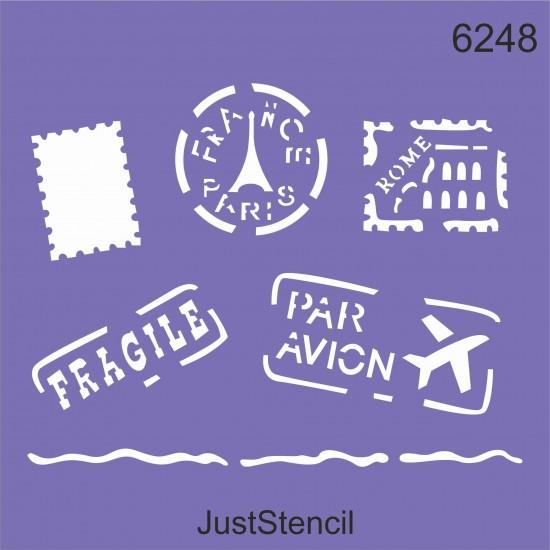 Stamps Letter