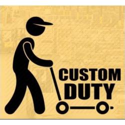 Custom Service/Tax Payment